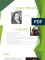 Juan Pestalozzi y Maria Montessori (Miluska Ortiz)