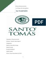 Macroeconomía Modelo Inversión