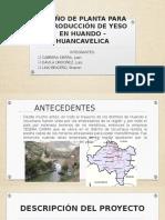 DISEÑO DE PLANTA PARA LA PRODUCCIÓN DE YESO.pptx