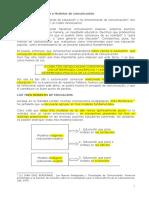 Modelos de Comunicación/Educación