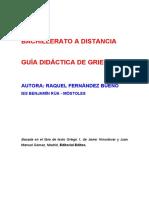 Guía Didáctica de Griego I