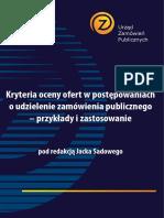 Kryteria Oceny Ofert Popr