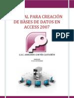 Práctica 1 creación de bases de datos