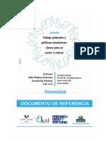 Trabajo Autónomo y Política Económica. DOCUMENTO DE REFERENCIA