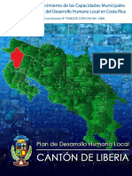 Plan de Desarrollo Humano Local Canton Liberia
