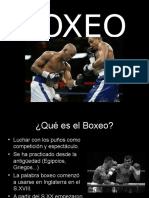 Presentación Boxeo