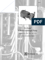Pumps Centrifugal Sanitary C ServiceManual