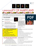 The Rival at UMD Fall 2016 Newsletter