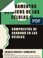 4.Fundamentos Quiìmicos de Las Ceìlulas II