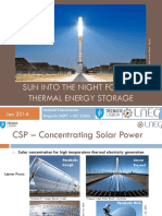 Sun into the night for CSP - Presentation