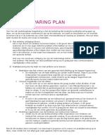 praktijkervaring plan af