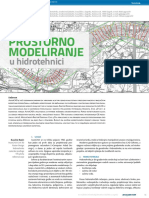 Prostorno Modeliranje u Hidrotehnici