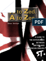 A Guide to the Differences Between American English and British English