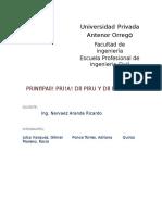 Presas Del Peru y Del Mundo