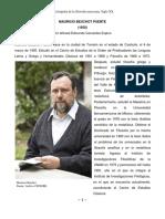 Biografía - Mauricio Beuchot
