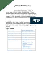 Comentários a Lei de Licitações e Contratos Administrativos