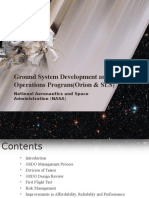 Space Station - Science and Technology PPT Template