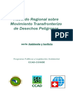 Movimiento Transfronterizo de Desechos Peligrosos