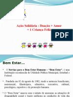 Apresentação Ação Solidaria - PARCEIROS 2015