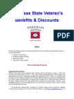 Vet State Benefits & Discounts - AR 2016