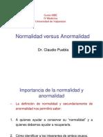 Normalidad Versus Anormalidad
