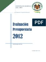 Evaluacion Anual Presupuestal