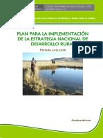 2012 2016 Plan Para Implementacion de La 1Estrategia Nacional de Desarrollo Rural
