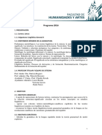 Programa 2016 LGII Esc. de Letras