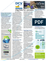 Pharmacy Daily for Mon 30 May 2016 - Missing links for cannabis, Printable tablet breakthrough, Cannavaping as a better form, Weekly Comment and much more