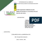 Proyecto San Miguel de Nono