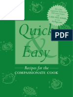 Quick & Easy Recipes for the Compassionate Cook