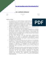 9.2 Resistencia Antimicrobiana