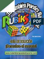 Tutorial cubo Rubik