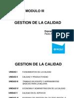 Gestiu00F3n de La Calidad - Unidad 1