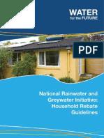 Federal Government Water Tank Rebates