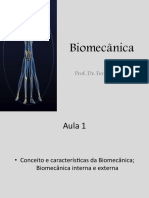 Biomecânica - Aula 3