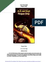 Rogue Ship - A. E. Van Vogt
