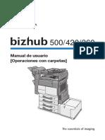 Manual Bizhub 420