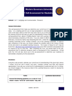 LAT1 Mike Ohl self Assessment.rtf