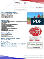 BIFS Newsletter, 2016-05-27 (English)