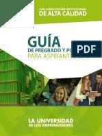 Guia Aspirantes Pregrado y Postgrado Universidad EAN