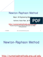 NEWTON-RAPHSON METHOD