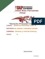 Trabajo Academico p Procesal Civil 2015