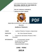 Peru-ecuador Procesos y Operaciones