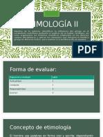 Etimología II