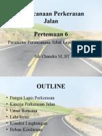 Pert. 6 - Parameter Perencanaan Perkerasan Jalan