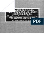 National Schools of Singing - Richard Miller