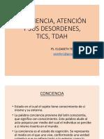 Conciencia, Atención y Sus Desordenes, Tics 6 (1).Ppt [Solo Lectura] [Modo de Compatibilidad]