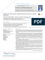 Potential Use of Binary and Composite Limestone Cements in Concrete