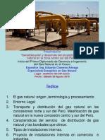 Sensibilización y Desarrollo Del Proyecto de Gas Natural Zona Centro Sur Del Peru